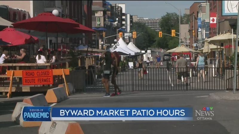 Council considers early closing for Market patios