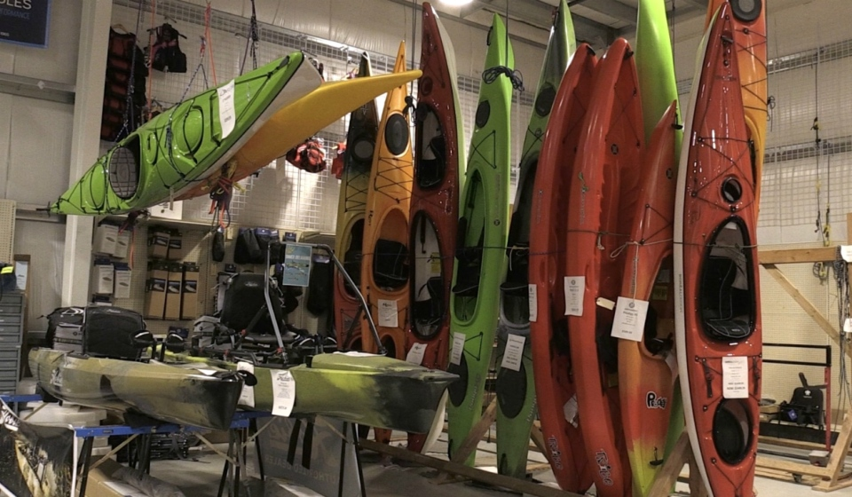 While many businesses have struggled during the COVID-19 pandemic, retailers that sell water sports equipment say they have been experiencing a recent boom.
