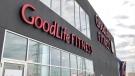 A GoodLife Fitness club in Ottawa, July 15, 2020 (Dave Charbonneau / CTV News Ottawa)