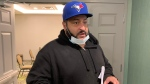 Adam LeRue, 42, comes out of Nova Scotia Police Review Board hearing in Halifax on July 15, 2020. A Halifax man is alleging racial profiling played a role in his arrest and jailing after he and his spouse pulled their vehicle into a park to make a cell phone call in 2018. Adam LeRue, who is Black, and his wife Kerry Morris, who is white, attempted to bring their complaint today before the Nova Scotia Police Review Board. (THE CANADIAN PRESS/Michael Tutton)