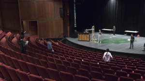 The Foote Theatre School is teaching children between the ages of six and 18 acting at a safe distance this year due to COVID-19 restrictions. July 15, 2020. (CTV News Edmonton)