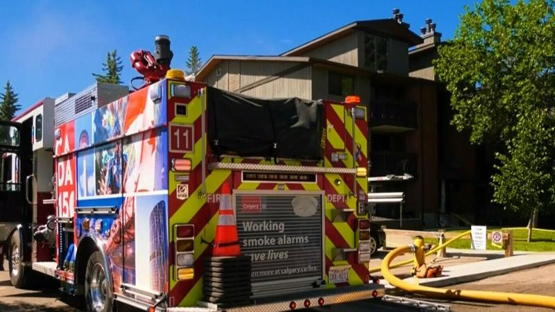 1 injured in suspicious fire