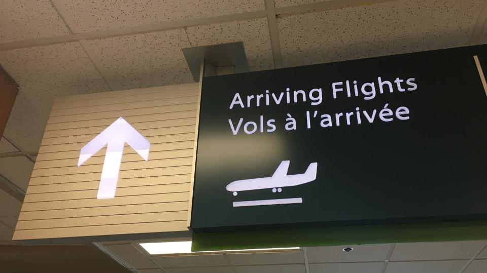 Regina Airport Arrivals