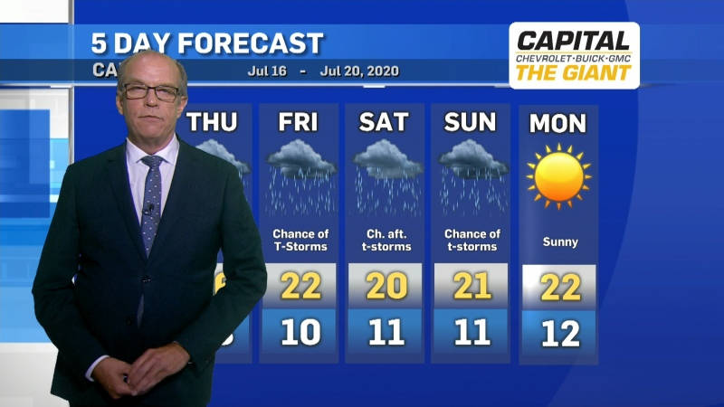 Calgary weather July 15, 2020