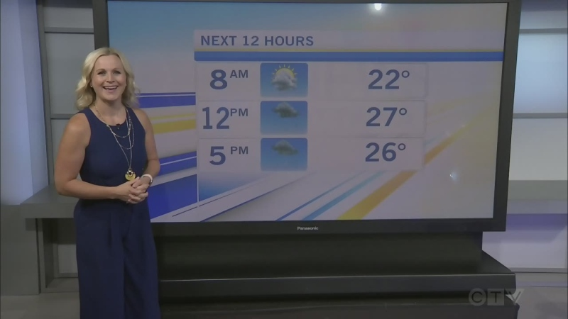 CTV Morning Live Weather July 16
