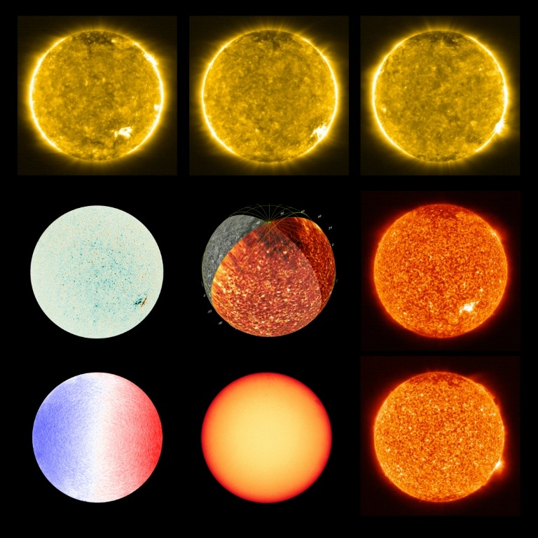 The images gathered by Solar Orbiter offer scientists and unprecedented look at the sun. (AFP)
