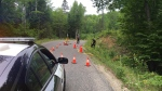 Ontario's Special Investigations Unit is investigating a fatal police-involved shooting in Haliburton, Ont., on Thurs., July 16, 2020. (Harrison Perkins)
