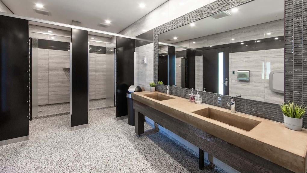 Westview RV Park bathroom, showers