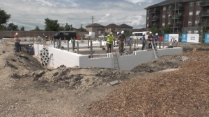 File image of Habitat for Humanity constructing a home. (Source: Glenn Pismennt/CTV News)