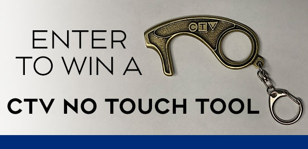 CTV No Touch Tool Giveaway Banner