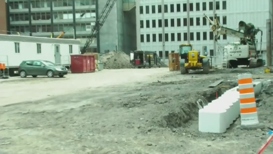 Work begins on Montreal's largest condo tower