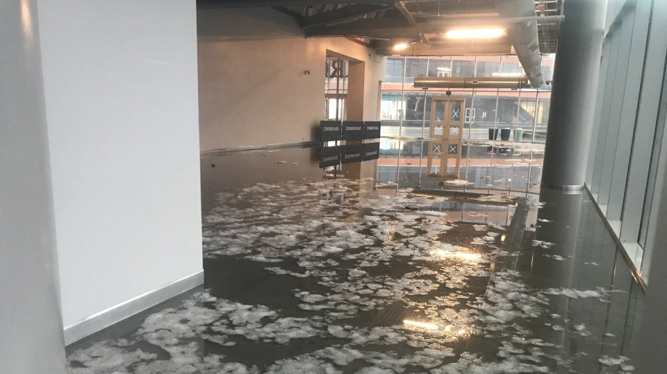 Rogers Place flood