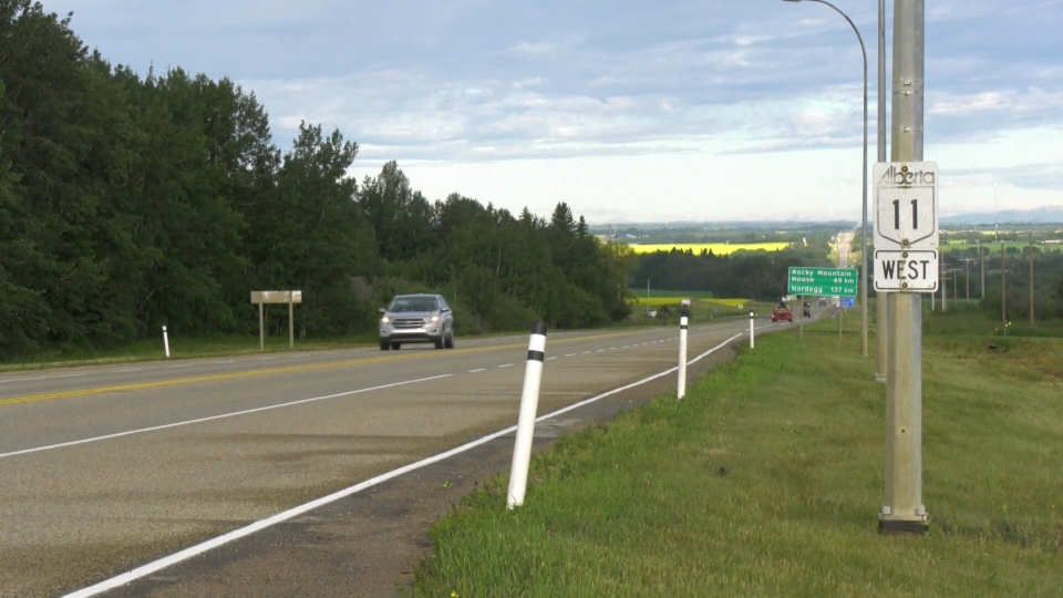 Alberta is investing $120 million to twin the highway between Sylvan Lake and Rocky Mountain House in central Alberta.