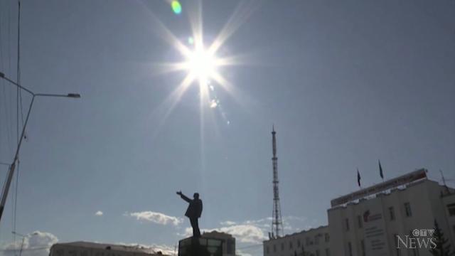 Heat wave in Siberia