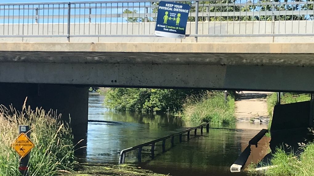 St. Albert flooding 2020