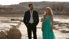 Patricia Clarkson and Alexander Siddig in 'Cairo Time'