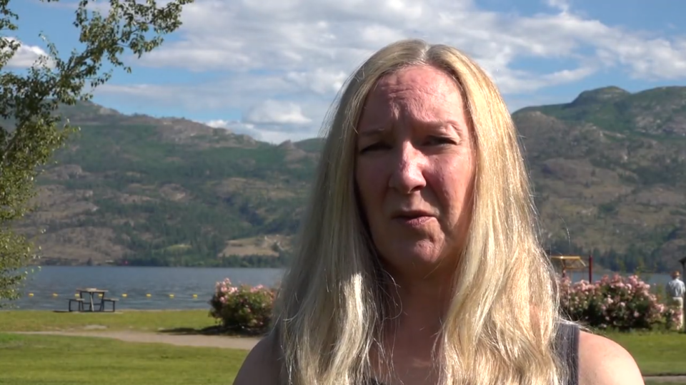 Fiona Read, alleges she was assaulted by an RCMP officer after leaving a New Year's Eve party, speaks to CTV News on Friday, July 17, 2020.