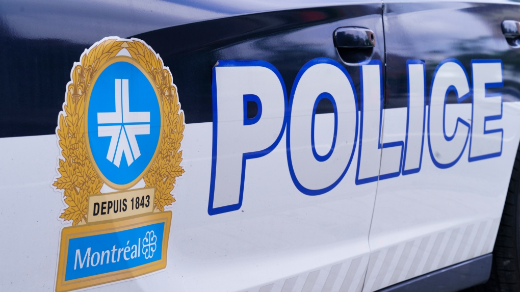 Montreal police (SPVM) car