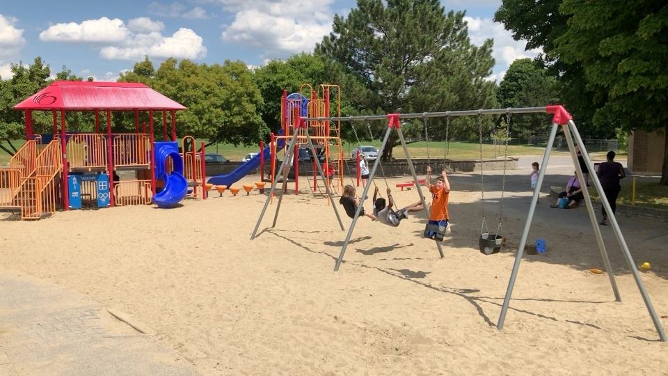 Playgrounds in Ottawa reopen