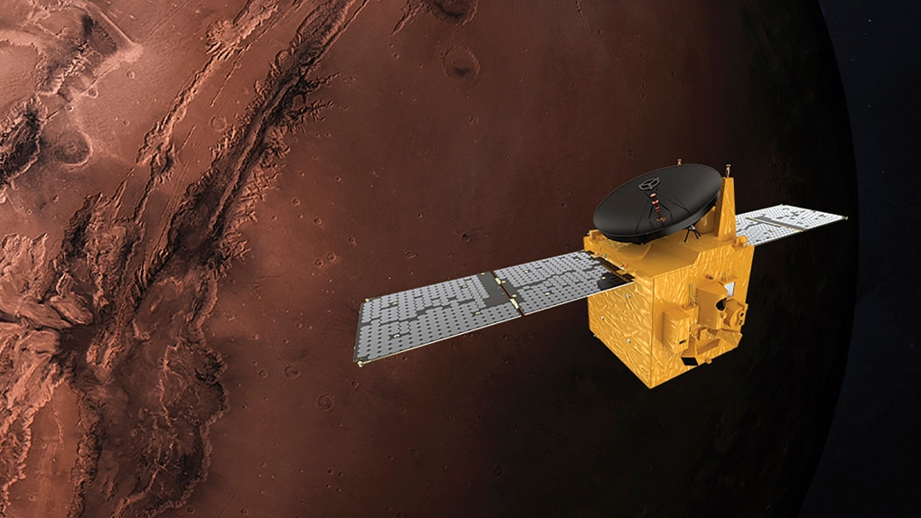 UAE - JAPAN UAE launches first ever Mars mission