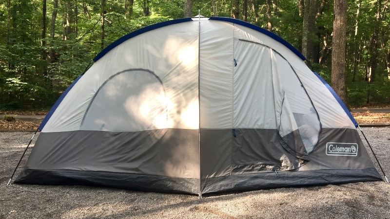 Camping reservations jumped more than 5,000 per cent in September compared to the same month a year earlier. (File photo)