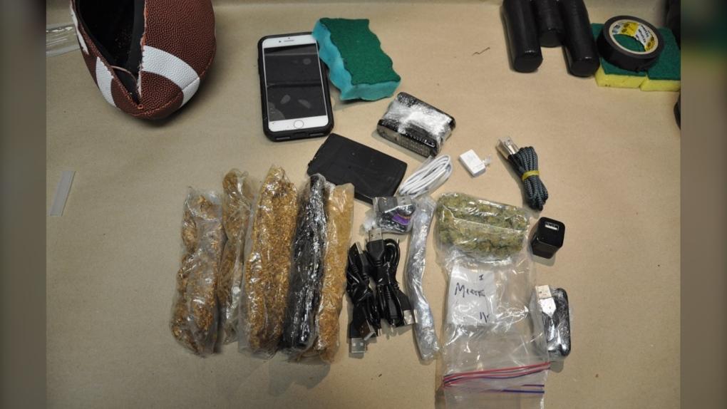 Drug smuggling attempt