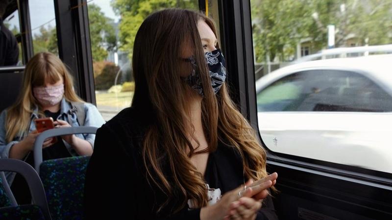 Wearing face masks will be mandatory on all BC Transit buses starting Aug. 24: (BC Transit)