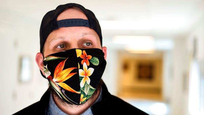 The Saskatchewan Health Authority is offering advice for people who decide to wear a face mask in public. (Submitted/Saskatchewan Health Authority)