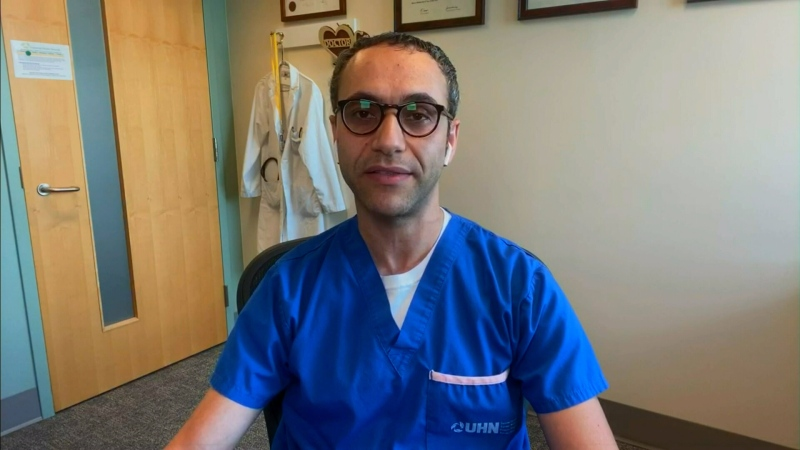 Infectious disease specialist Dr. Abdu Sharkaway