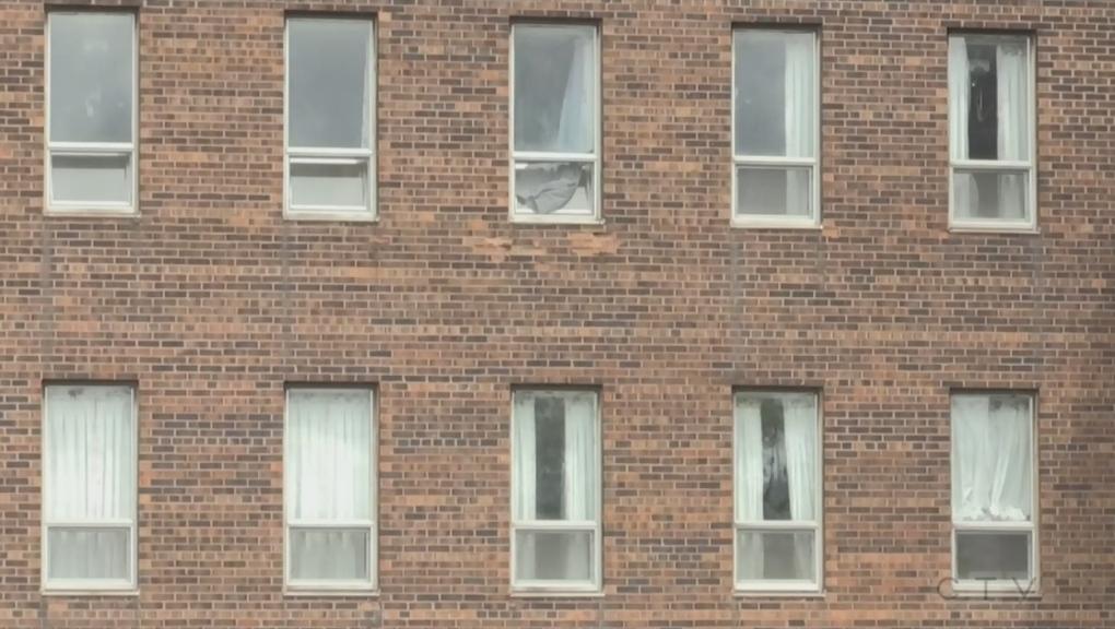 Windows at Extendicare Falconbridge in Sudbury