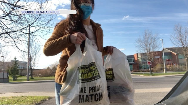 Bag-Half-Full is a volunteer-based delivery service, run by medical students, that brings groceries and prescriptions to isolated individuals.