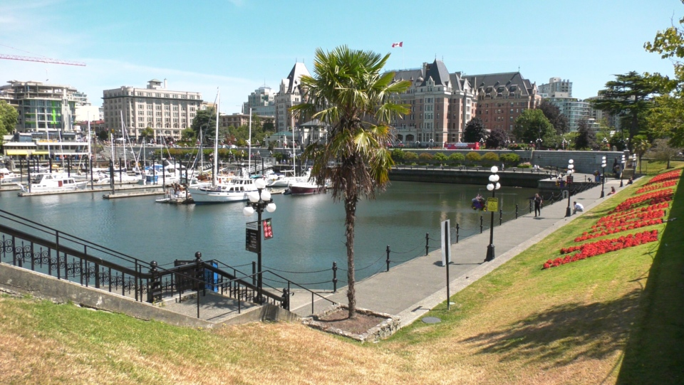 The Victoria Inner Harbour is shown: July 21, 2020 (CTV News)