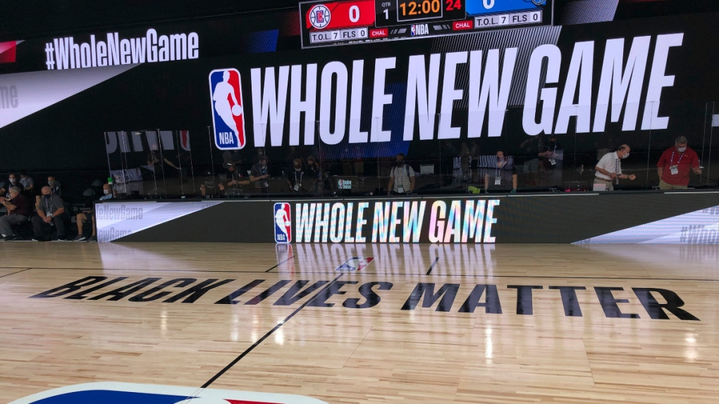 A Whole New Look For A Whole New Nba Game Experience Ctv News