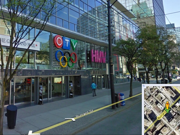 Google Street View launches in Canada   CTV News on google map red sea, google map arizona, google map asia, google map africa, google map brazil,