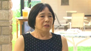 Tsai Foong Blasutta appears on CTV News, Tuesday, July 21, 2020.
