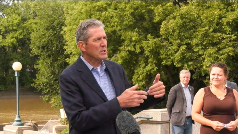 Premier Brian Pallister on July 22, 2020.