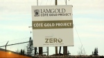 After at least eight years of planning, IAMGOLD has approval to begin construction on its Côté Gold mining project south of Gogama, Ont. (Supplied)