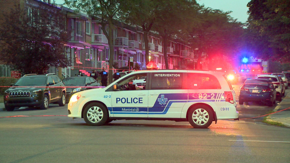 A 6-year-old girl is in critical condition after being stabbed with a sharp object on Thursday / Cosmo Santamaria, CTV Montreal