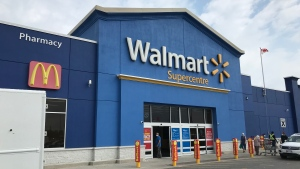 Walmart store in East Windsor, Ont. on Thursday, July 23 2020. (Rich Garton/CTV Windsor)