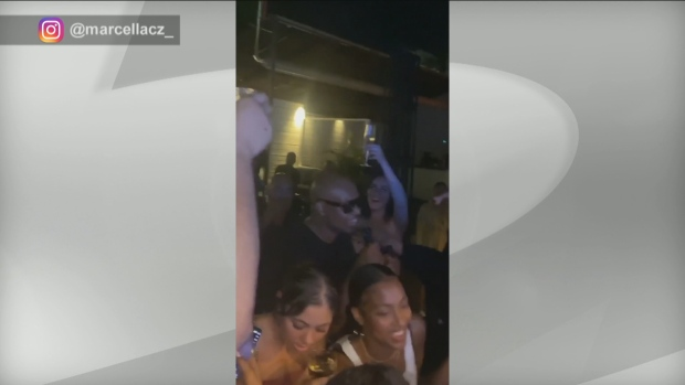 Toronto bar under fire after 'chair girl' posts videos of people on packed patio