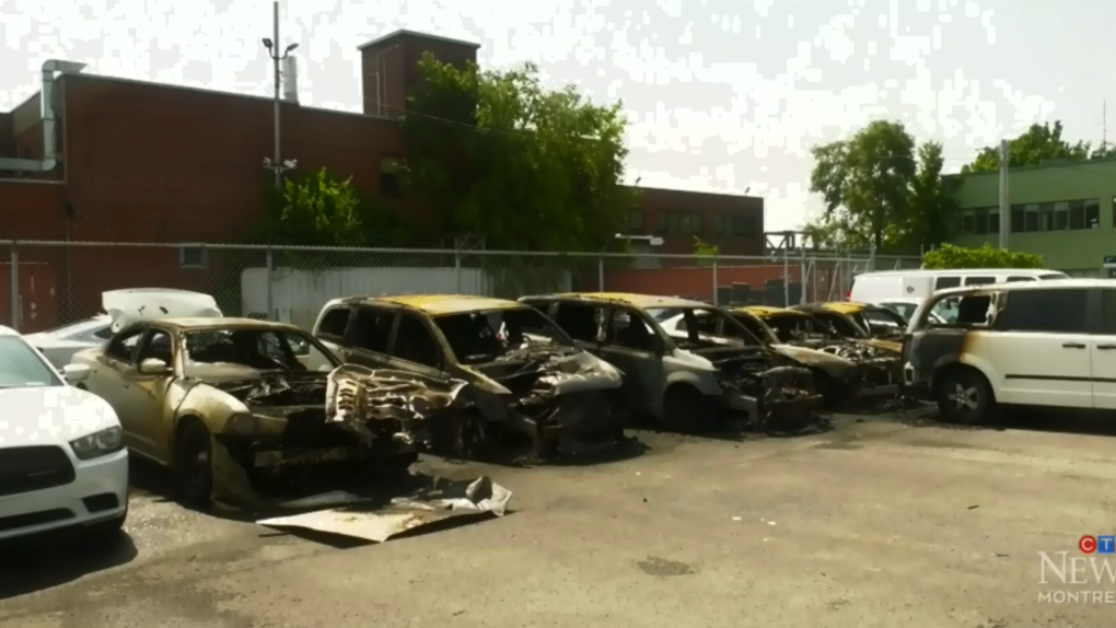 Anarchists claim responsibility for torched cars