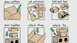 amazon boxes cat condo