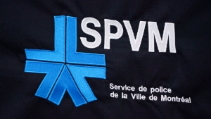 The Montreal Police logo is seen in Montreal on Wednesday, July 8, 2020. THE CANADIAN PRESS/Paul Chiasson