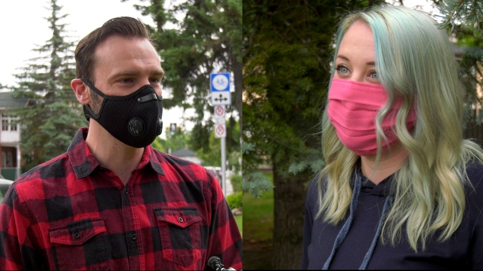 Bryson Montgomery and Tamara Burton, pictured in this composite photo, are speaking out about how easily the novel coronavirus can spread at social gatherings.