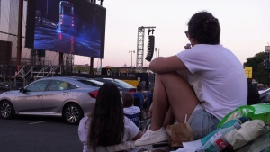 Just for Laughs at the drive-in