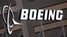 In this Jan. 25, 2011, file photo, is the Boeing Company logo on the property in El Segundo, Calif. (AP Photo/Reed Saxon, File)