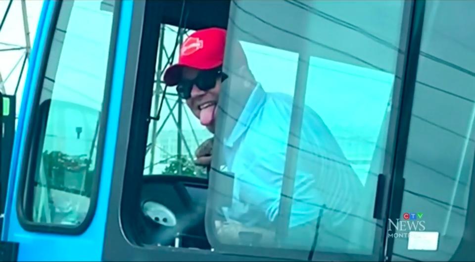STM bus driver harasses woman