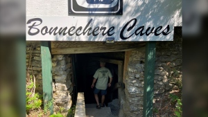 Owner Chris Hinsperger says the Bonnechere Caves near Eganville is not a safe place to be during the COVID-19 pandemic, and the caves will remain closed until next year. (Dylan Dyson/CTV News Ottawa)