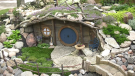 Replica Hobbit home in Saskatoon's City Park neighbourhood (Ethan Butterfield/CTV Saskatoon)