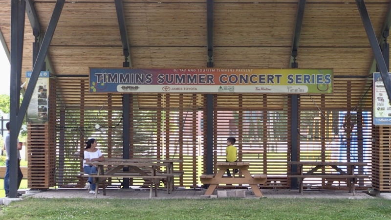 With Tourism Timmins unable to support the 'Summer Concert Series' this year, Peter Lawryniw and wife Julie Cyr are putting their own money towards streaming the event online and finding artists to perform. July 25/2020 (Sergio Arangio/CTV News Northern Ontario)